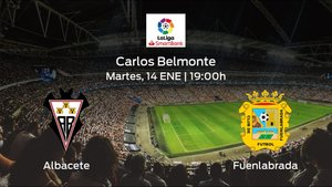 Previa del partido de la jornada 23: Albacete contra CF Fuenlabrada