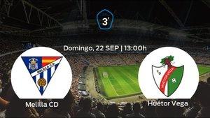 Previa del partido: el Melilla CD recibe en casa al Huétor Vega