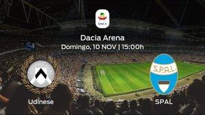 Previa del partido: el Udinese recibe en su feudo al SPAL