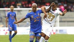 Pumas igualó a 3 con Tigres por el Apertura 2018