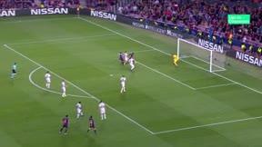 Rafinha hizo de Messi y adelantó al Barça