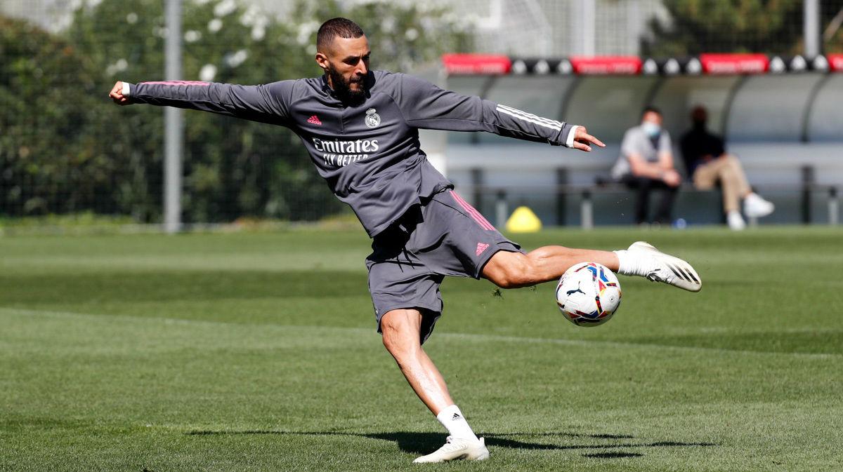 El Real Madrid se entrenó con el balón como protagonista