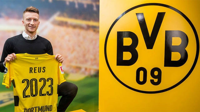 Reus renueva con el Dortmund hasta 2023
