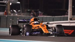 Sainz fue décimo en el GP de Abu Dhabi