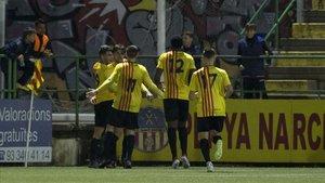El Sant Andreu ya apeó en cuartos al Barça B