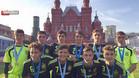 La selección española sub16, campeona a los pies del Kremlin