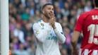 Sergio Ramos se lamenta por una opción perdida