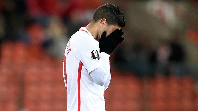 El Sevilla se complica la vida ante el Standard Lieja