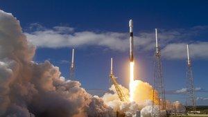 SpaceX lanza otros 60 satélites Starlink en su última misión