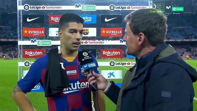 Suárez: Ha sido el mejor gol de mi carrera