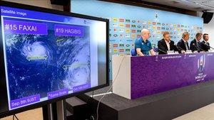 El tifón Hagibis, protagonista inesperado del Mundial de Rugby