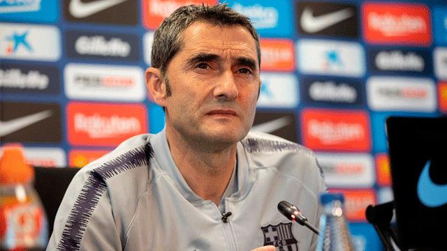 Valverde: Umtiti tendrá que trabajar para recuperar su posición