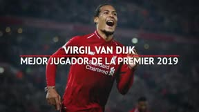 Van Dijk, elegido Jugador del año en la Premier League