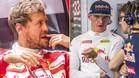 Vettel y Verstappen acabaron descontentos tras el GP Bélgica
