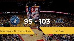 Victoria de Utah Jazz ante Minnesota Timberwolves por 95-103