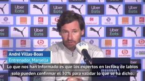Villas-Boas, sobre el caso Neymar-Álvaro: Solo se puede validar el 30% de lo que se ha dicho