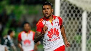 Wilson Morelo celebra uno de sus goles