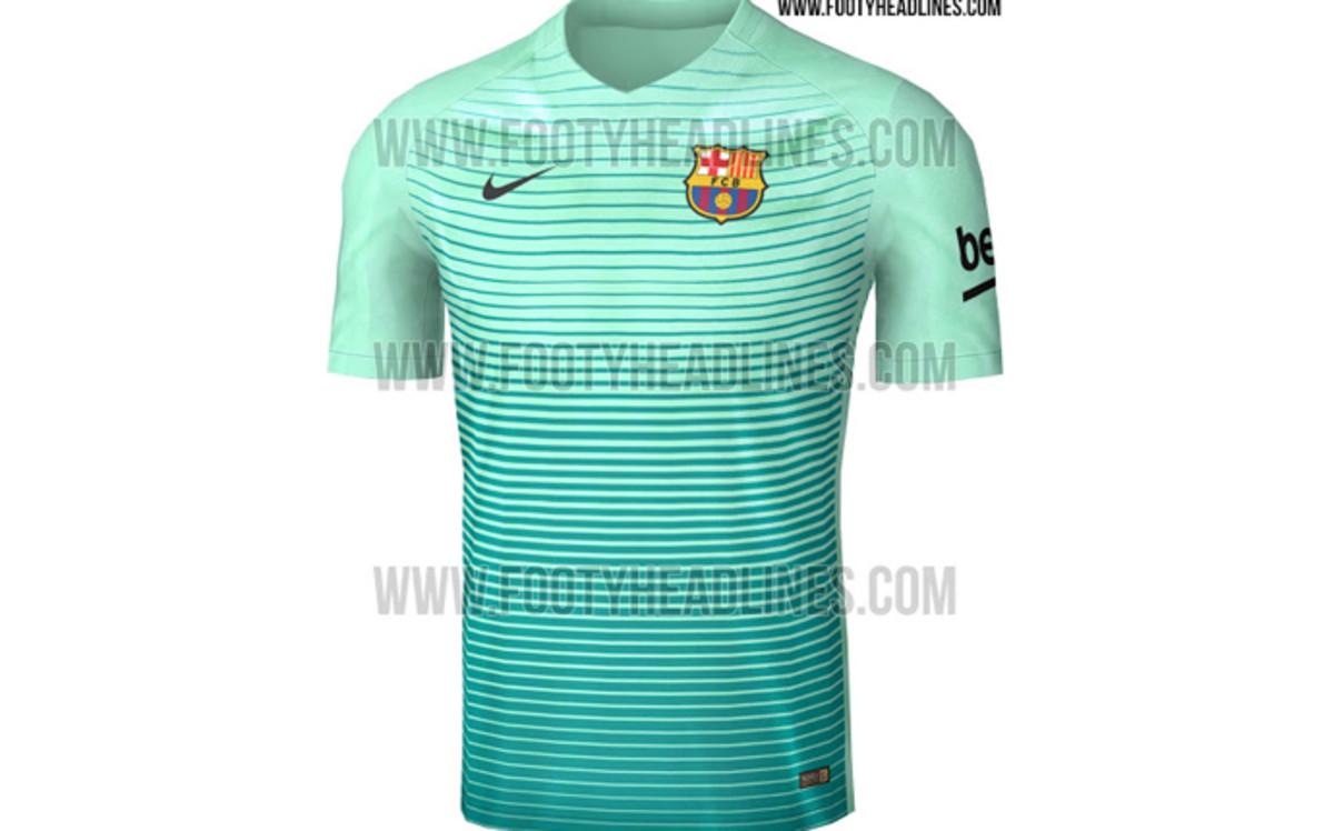 8090e82e7a162 Así será la tercera equipación del FC Barcelona la temporada 2016 17