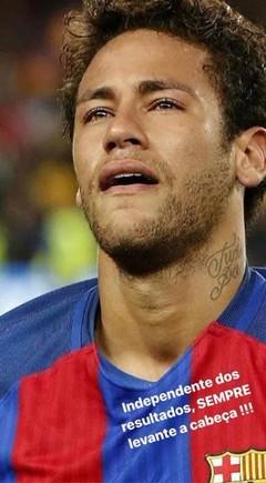 El mensaje de Neymar