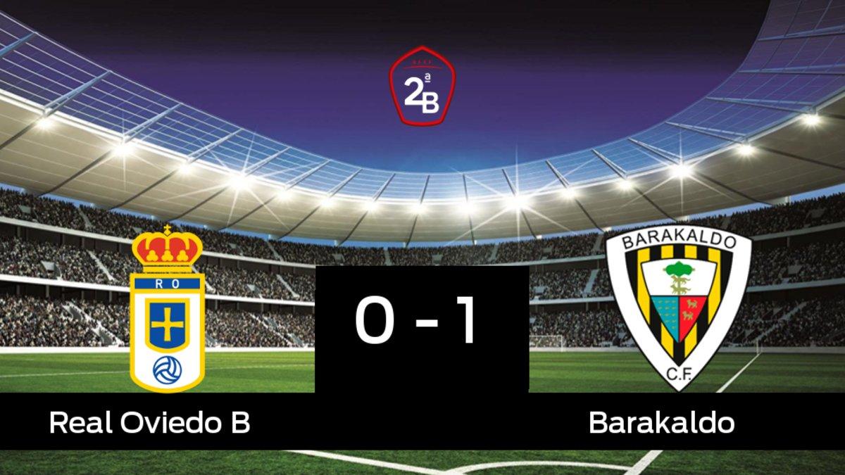 El Real Oviedo B cae derrotado ante el Barakaldo (0-1)