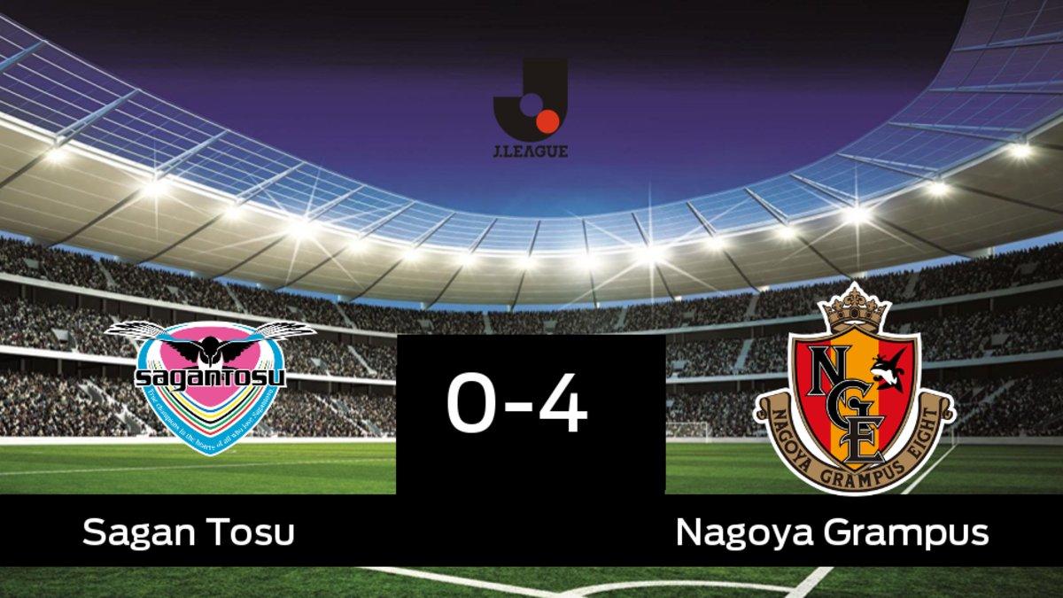 Empate 0-4 en el primer partido de la eliminatoria entre Sagan Tosu y  Nagoya Grampus 32e943c6184fe