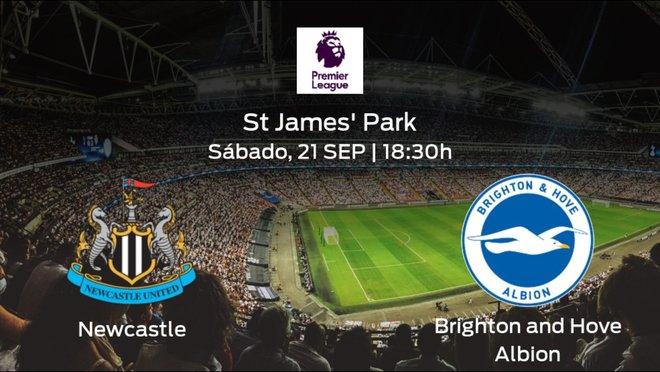 Previa del partido: el Newcastle recibe al Brighton and Hove Albion en la sexta jornada