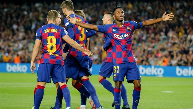 El 1x1 del Barça ante el Valencia