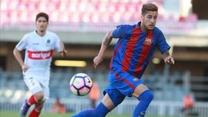 Abeledo tuvo un paso discreto por el Barça B.