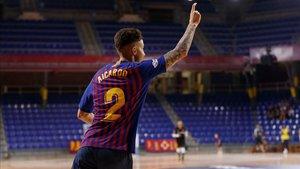 Aicardo ha recibido el alta y jugará este viernes en el Palau