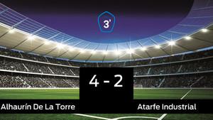 El Alhaurín De La Torre ganó en su estadio al Atarfe Industrial