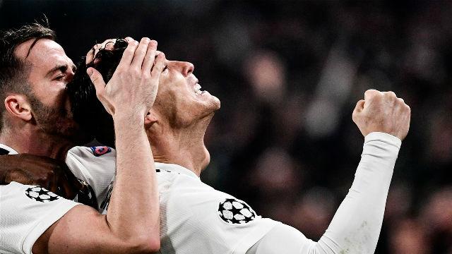 Así fue la legendaria actuación de Cristiano Ronaldo ante el Atlético