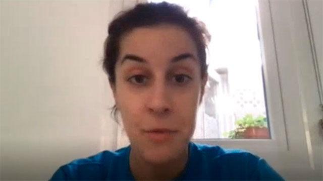 Así vive Carolina Marín el confinamiento