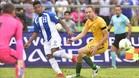 El azulgrana Choco Lozano fue titular en el Honduras-Australia
