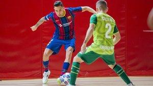 El Barça no pudo con el Inter Movistar