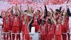 El Bayern es el club alemán que más ingresa por los derechos televisivos