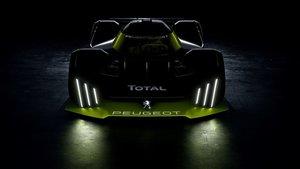 Boceto del nuevo Peugeot LMH