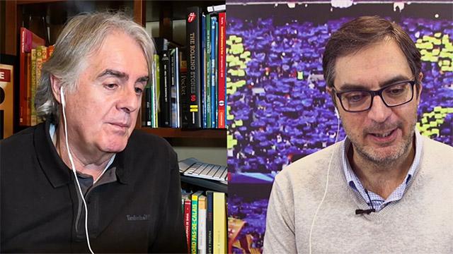 El cara a cara de Mascaró y Siro López: El Barça se pondrá a 11 puntos del Madrid (ES)