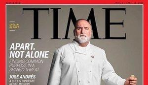 El chef Jose Andrés, portada de Time por su ayuda frente al coronavirus