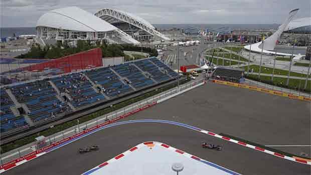 El circuito de Sochi del GP de Rusia de F1 (ES)