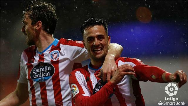 Cristian Herrera dio la victoria al Lugo ante el Albacete