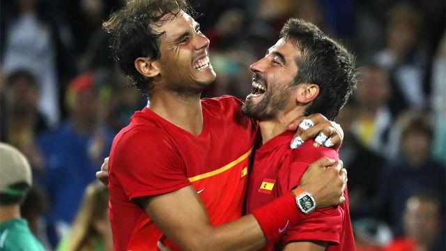 Se cumplen cuatro años del oro de Rafa Nadal y Marc López en Río 2016