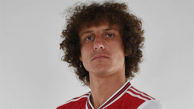 David Luiz, nuevo jugador del Arsenal