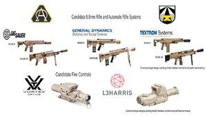El Ejército Estadounidense expone cuales serían sus próximos fusiles de asalto