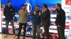 Entrerríos y Roy, en el sorteo de Copa en Alicante