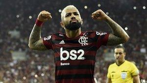 Gabriel Barbosa fue la gran figura del partido