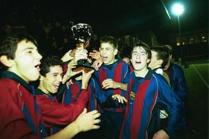 18. Gerard Piqué 2001-02
