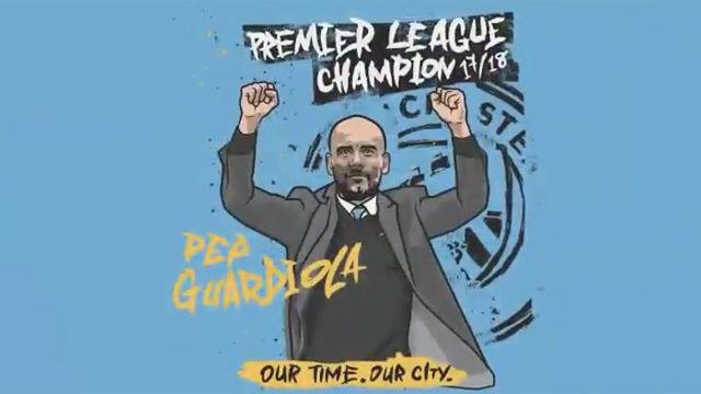 Guardiola agredece así haberse convertido en campeón de la Premier League