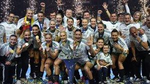 El Gyori celebra la Champions de 2019