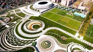 Imagen aérea de Krasnodar