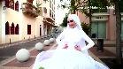 El increíble vídeo de esta novia en mitad de la explosión de Beirut